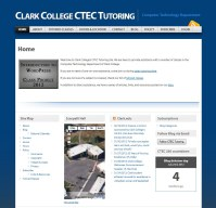clark college ctec tutoring front pageview