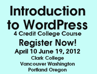intro to wordpress badge