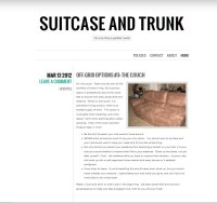 suitcase and trunk front pageview