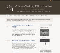 tim tailor computer training front page
