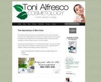 toni alfresco cosmetologiest front page