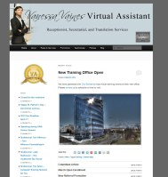 vanessa vaines virtual assistant front page