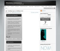 wedding experience front pageview