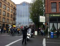 may day pdx protest parade begins by mothers bistro - lorelle