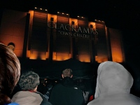 Clackamas Mall Vigil - photography by Duke DesRochers.
