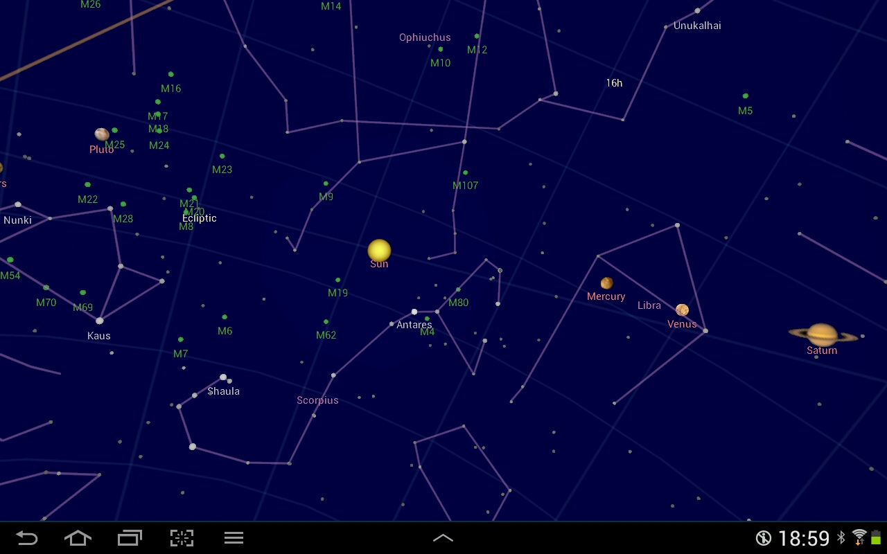 Google sky map lorelle on wordpress google sky map screenshot gumiabroncs Gallery