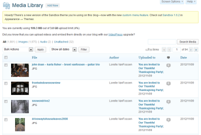 how to download images from wordpress media library