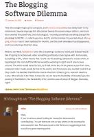 Matt Mullenweg asks readers about making a new publishing platform, Mike Little response, and WordPress is born.