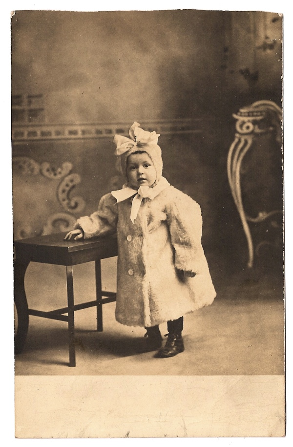 howard william west as a baby - portland oregon circa 1907