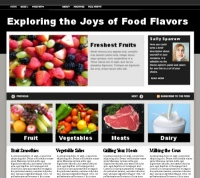 WordPress Theme example of a front page with slider and posts displayed by category - Lorelle VanFossen.