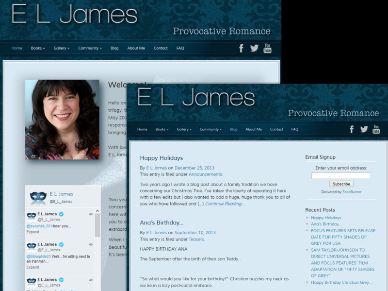 Example of an Integrated or Hybrid SiteModel with EL James