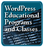 WordPress Educational Programs and Classes badge.