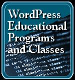 WordPress Educational Programs and Classes badge.