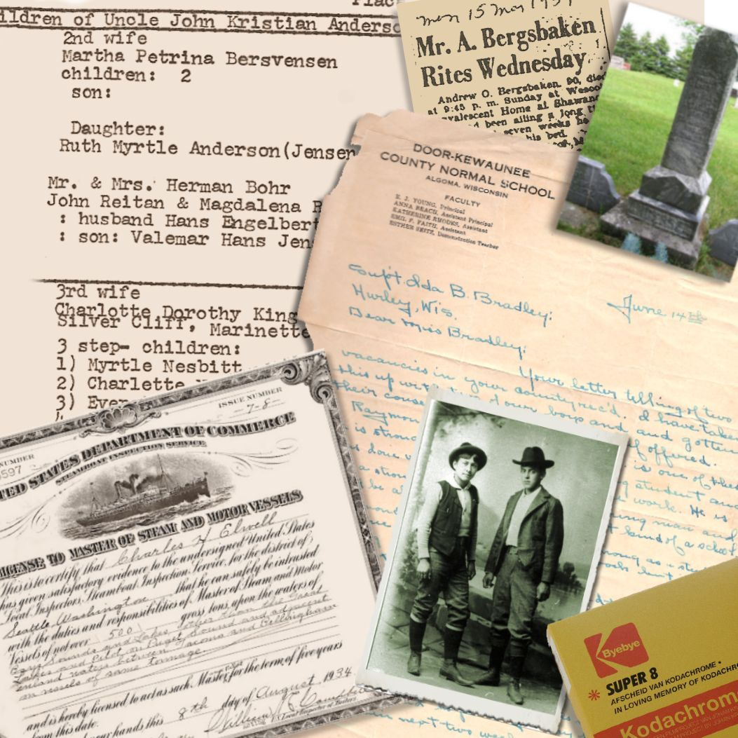 family history paper examples