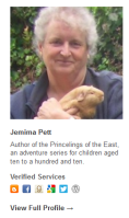 Jemima Petts Gravatar Example in WordPress.comprofile.