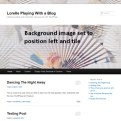 Background Image - Left and Tile fully - Lorelle WordPress School