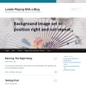 Background Image - Right and No Repeat - Lorelle WordPress School