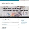 Background Image - Right and Tile Vertically - Lorelle WordPress School