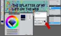 Images - Adjust the text color in Header Art in Pixlr - Lorelle WordPress School