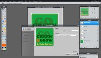 Images - Article Series Badge Graphic - Save file in Pixlr - Lorelle WordPress School