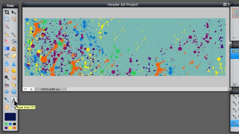 Images - Custom Header Art ready for adding text layer in Pixlr - Lorelle WordPress School