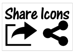 Share Icon standard images.