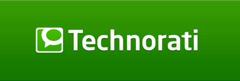 Technorati logo.