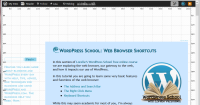 Browsers – Bookmarklets – CSS Layout Grid – Lorelle WordPressSchool