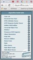Browsers – Bookmarklets – Slayeroffice Favelet Suite for web dev – Lorelle WordPressSchool