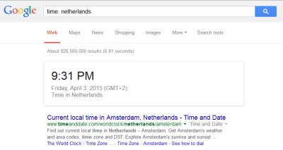 Browsers- Search - World Time in Google - Lorelle WordPress School.
