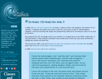CSS - CSS Naked Day - With Styles - Lorelle WordPress School