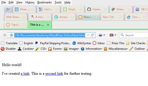 WordPress School: HTML and CSS Tutorial