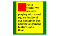 HTML – CSS – Positioning – Float Class Alignleft added to the image – Lorelle WordPressSchool