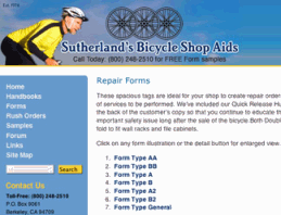 Jalenack Bicycle Website Design