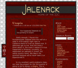 Jalenack Red Theme