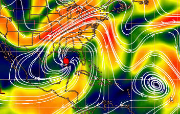 hurricane katrina wind speed and movement influences world wide